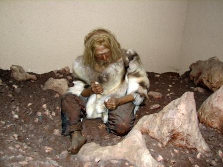 Recherche d'homme prehistorique